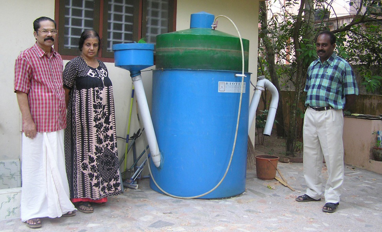 small scale biogas design - Home Biogas System Design