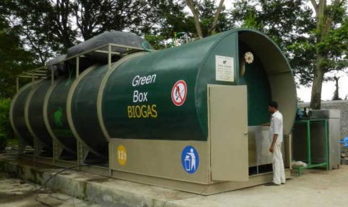 Green Box Biogas Plant