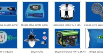 biogas applicances