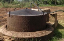 floating drum biogas