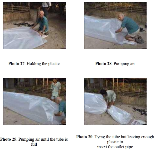 tube gas digester
